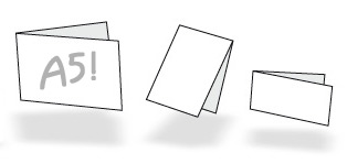A5 kaarten drukken - bestel bij uw online drukkerij