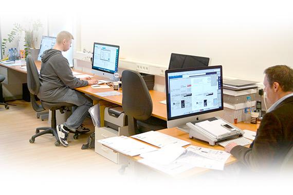 Drukwerkvoorbereiding en technische ondersteuning