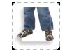 breedlopende voet