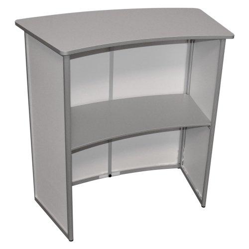 inklapbare desk, mobiel en onverwoestbaar, de Expolinc Case and Counter