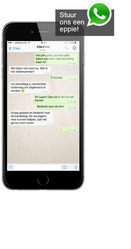 Stuur een apple met Whatsapp!