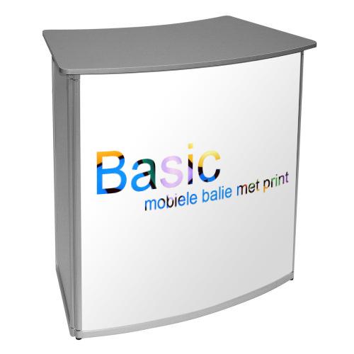 basic mobiele balie voorbeeld met print