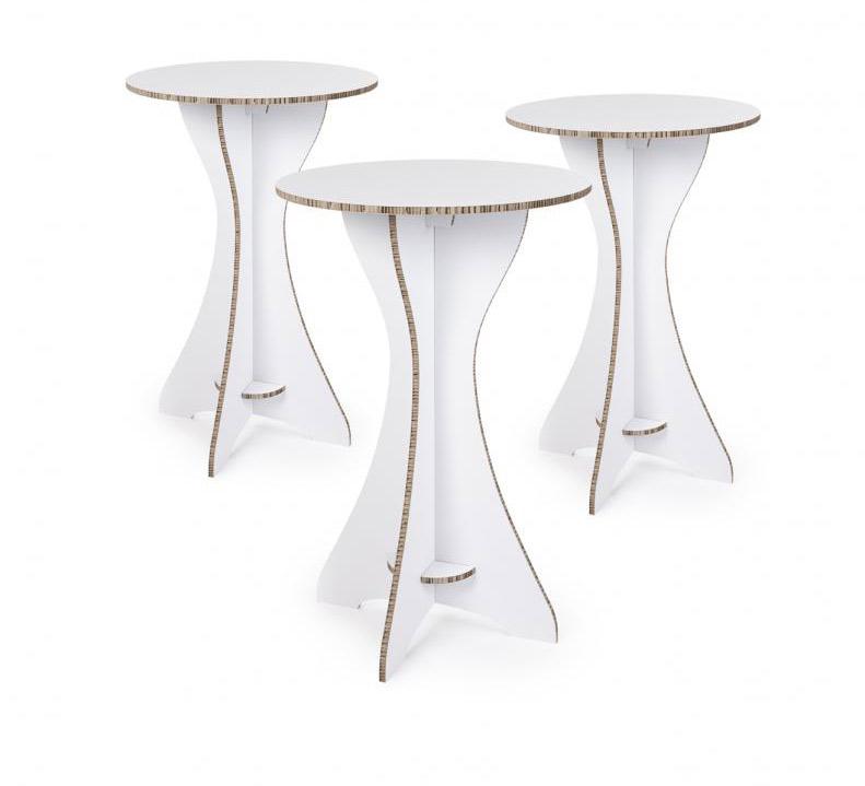 Bedrukte partytafels