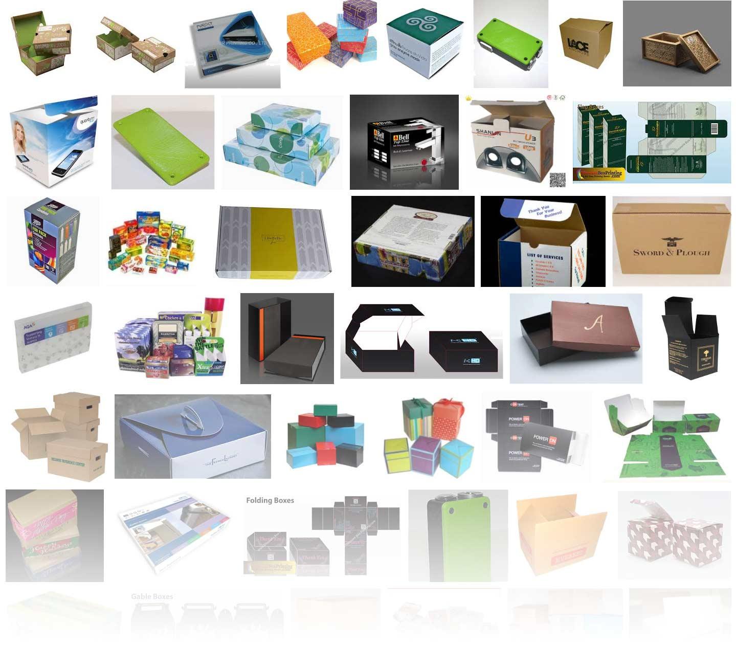 verpakkingen laten drukken en bedrukte dozen in kleine oplage