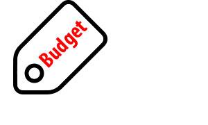 budget rolbanner