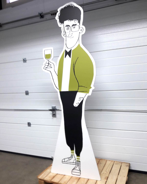 cardboard kartonnen cutout illustratie