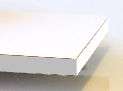Wit gefineerd honingraatkarton