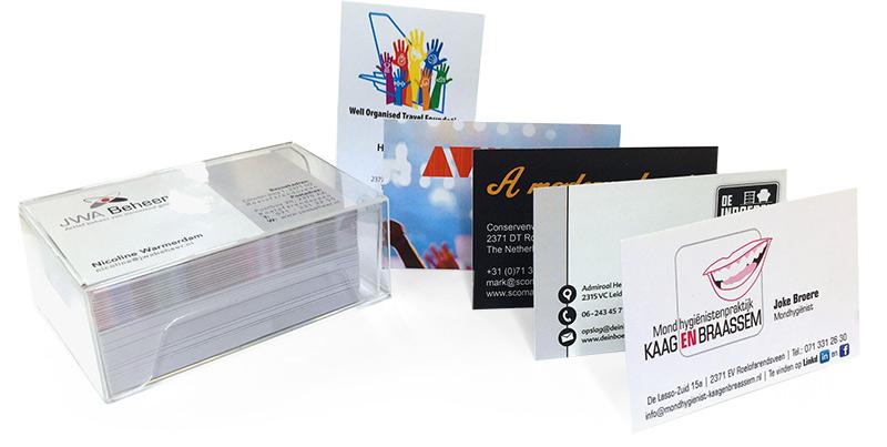 Goedkoop visitekaartjes drukken, type budget