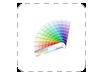 alle kleuren zijn mogelijk voor het drukken van ronde visitekaartjes