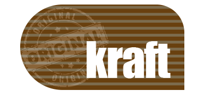 Kraftpapier logo - Original kraft
