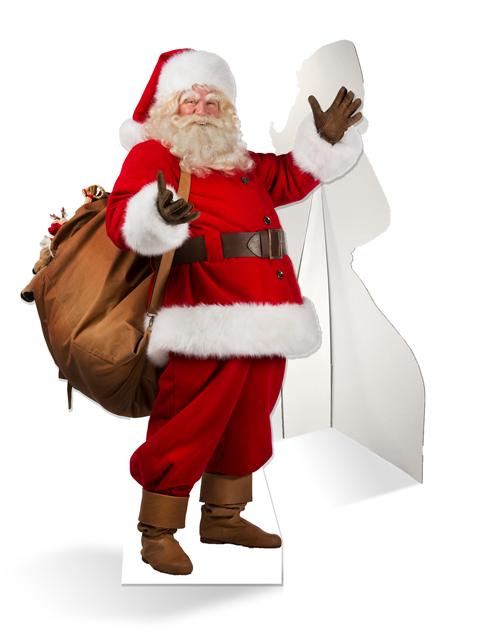 Levensgrote echte kerstman van karton bestel goedkoop for Action printpapier