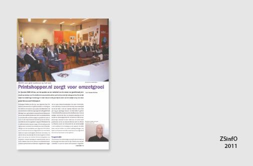 PIM Print in de Wifacts (Wifac magazine), jaar 2011, artikel over aanpak digitale drukkerij