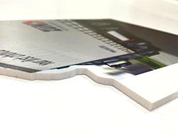 Printen op Forex en op maat laten maken met frezen