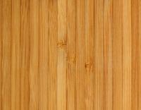 Houten bamboe rolbanner detail