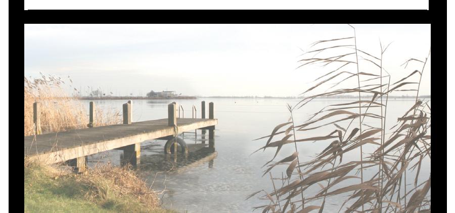 Rouwkaarten drukken met fotos uit de polder, voorbeelden van landschap van Braassemermeer