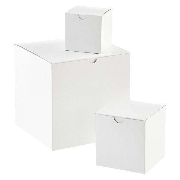 Bedrukte vierkante doosjes