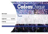 a3 cheque ontwerp 1 blauw