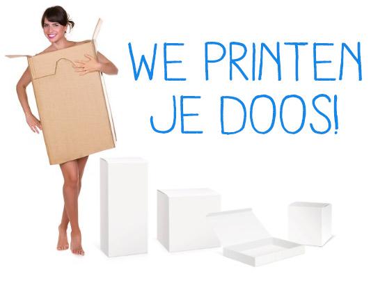 Dozen printen in alle vormen en maten