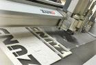 Vlakbed drukkerij met plaatafwerking met een Zünd cutter