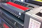 inkt in de pers bij drukkerij roelofarendsveen