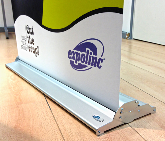 Picture of an Expolinc Roll Up Banner Classic