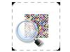 drieluik folders drukken met scherp raster