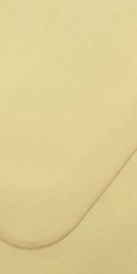 envelop met chamois kleur, crême