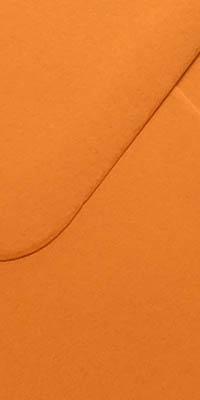 envelop met feloranje kleur, fel oranje