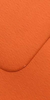 envelop met fiore oranje kleur, oranje