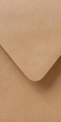 kraftpapier enveloppen, kraft lichtbruin papier