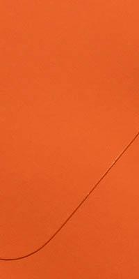 envelop met oranje kleur