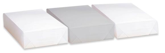 goedkoop kopieerpapier a4 en A3 in allerlei soorten, zoals parelmoer papier of kraftpapier