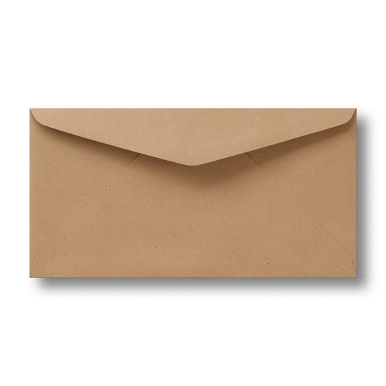 Lichtbruine kraft enveloppen 11 x 22