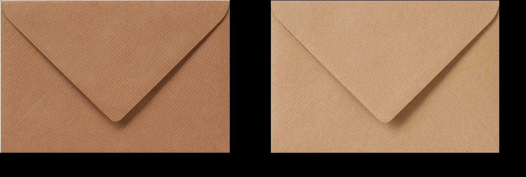 Kraft enveloppen, enveloppen gemaakt van kraftpapier