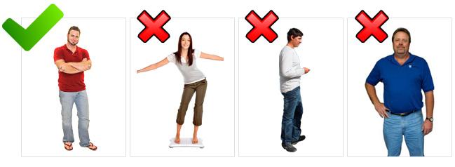 Uw foto dient aan bepaalde eisen te voldoen, let op volledigheid en rechte opname