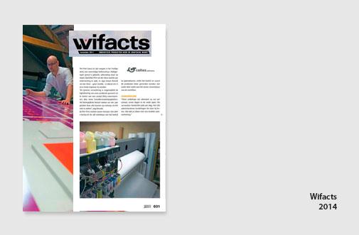 PIM Print in artikel van Wifac, juni 2014, artikel over automatisering als online drukkerij