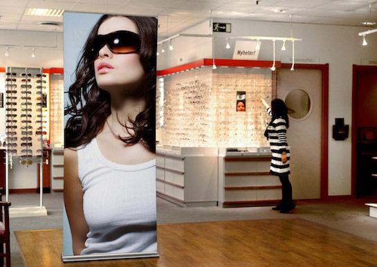 expolinc rollup professional in de showroom