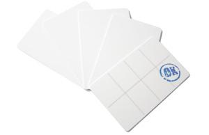 stempelkaarten, voor allerlei toepassingen kunt u stempelkaarten gebruiken