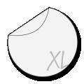 grote ronde stickers drukken 30 cm