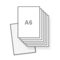 a6 flyers bedrukt op dik karton