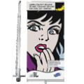 de sterke rollup banner Compact op 100 cm breedte