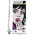 de sterke rollup banner Compact op 85 cm breedte
