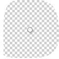 transparante stickers CMYK met wit