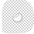 ronde transparante stickers drukken 10 cm