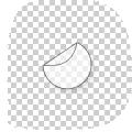 ronde raamstickers drukken 12 cm