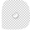 ronde transparante stickers drukken 8 cm