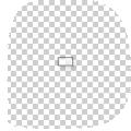rechthoekige transparante stickers drukken 2 x 4 cm