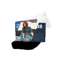 Briefkaarten en kaarten drukken
