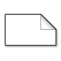rechthoekige stickers