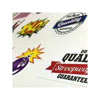 een overzicht van de mogelijkheden voor stickers drukken